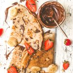Vegan Crepes Filled with Nutella | Easy Vegan Dessert | World of Vegan | #crepes #vegan #nutella #dessert #plantbased #chocolate