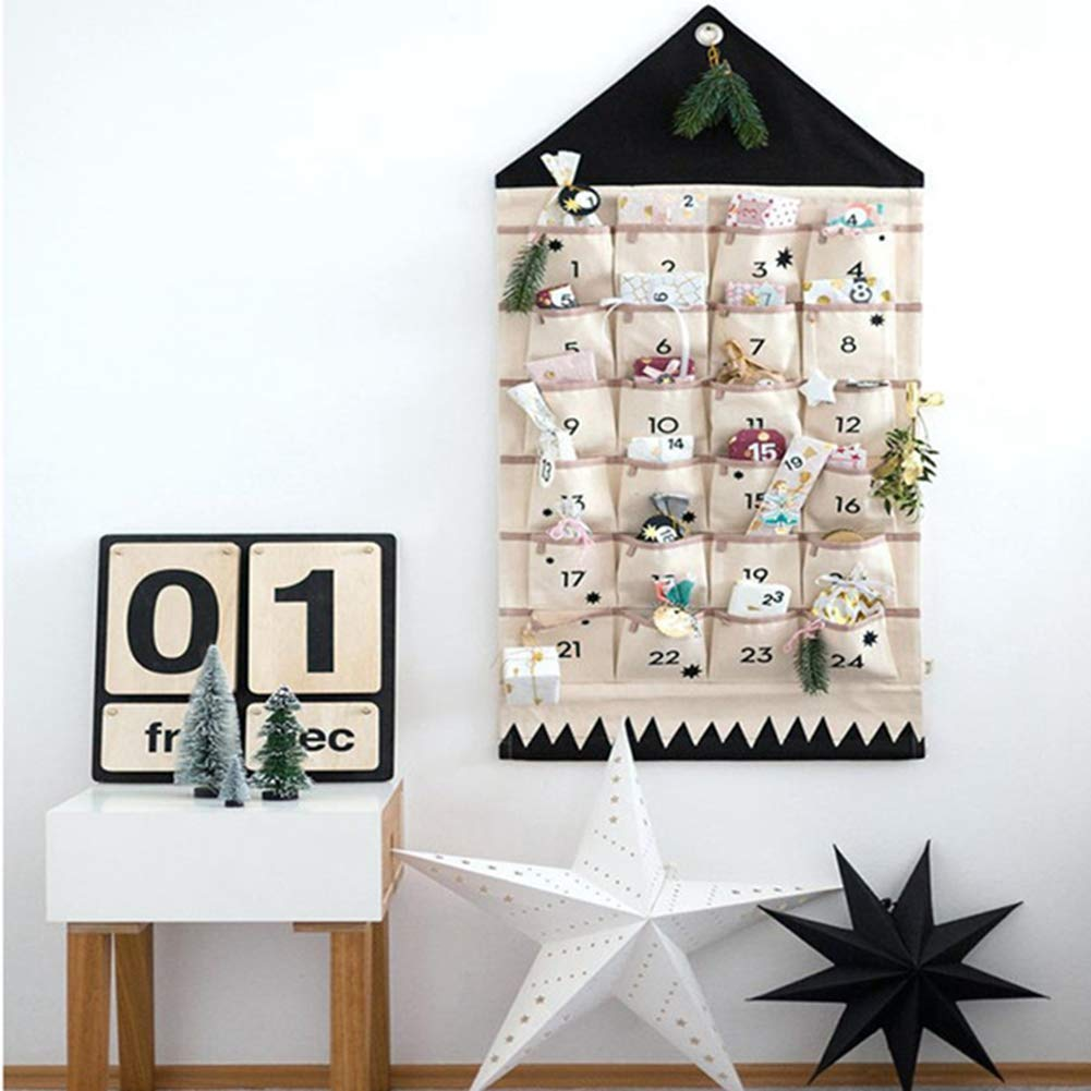 Vegan Advent Calendars: Hanging Calendar With Pouches