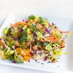 Chinese Chickpea Salad | World of Vegan