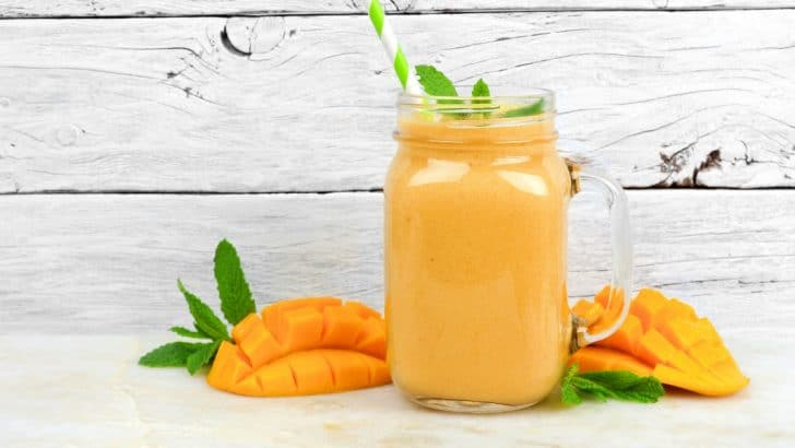 Tropical Mango Banana Smoothie