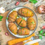 Vegan Hasselback Potatoes | World of Vegan | #hasselback #potatoes #vegan #side #recipe #worldofvegan