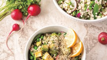 Fresh Israeli Couscous Salad