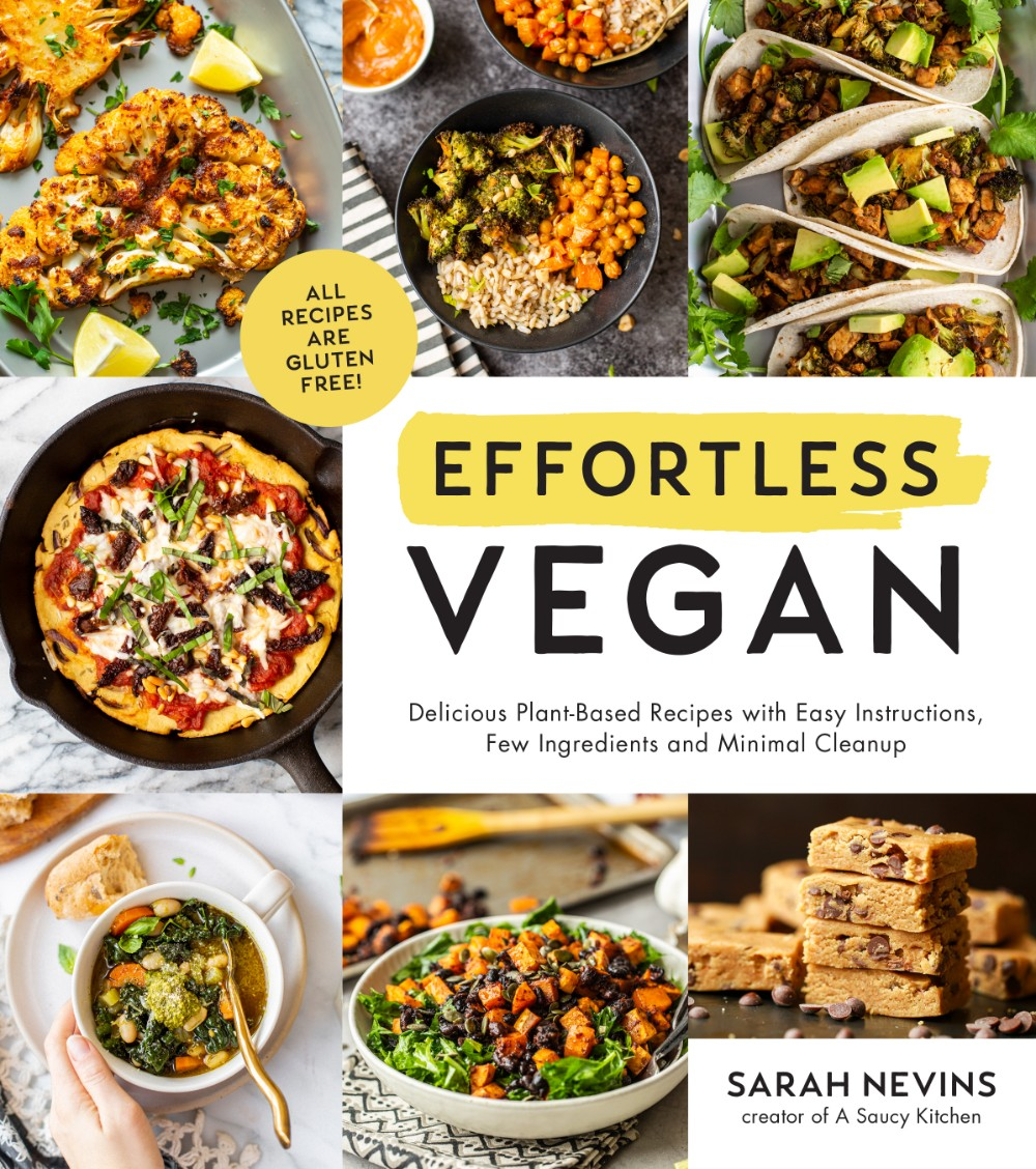 Effortless Vegan Cookbook Cover