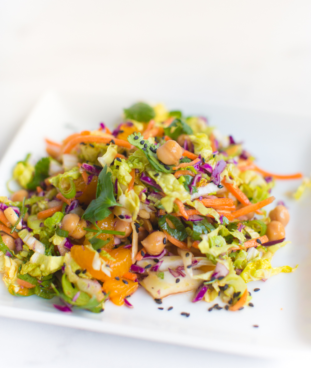 Chinese Chickpea Salad Recipe | World of Vegan