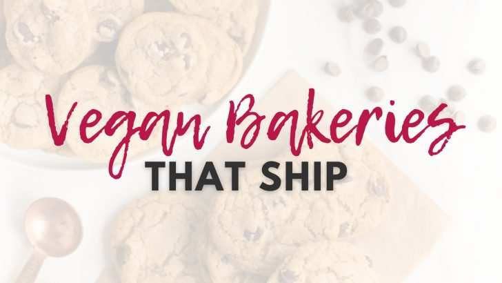 Online Vegan Bakeries That Will Ship To Your Doorstep