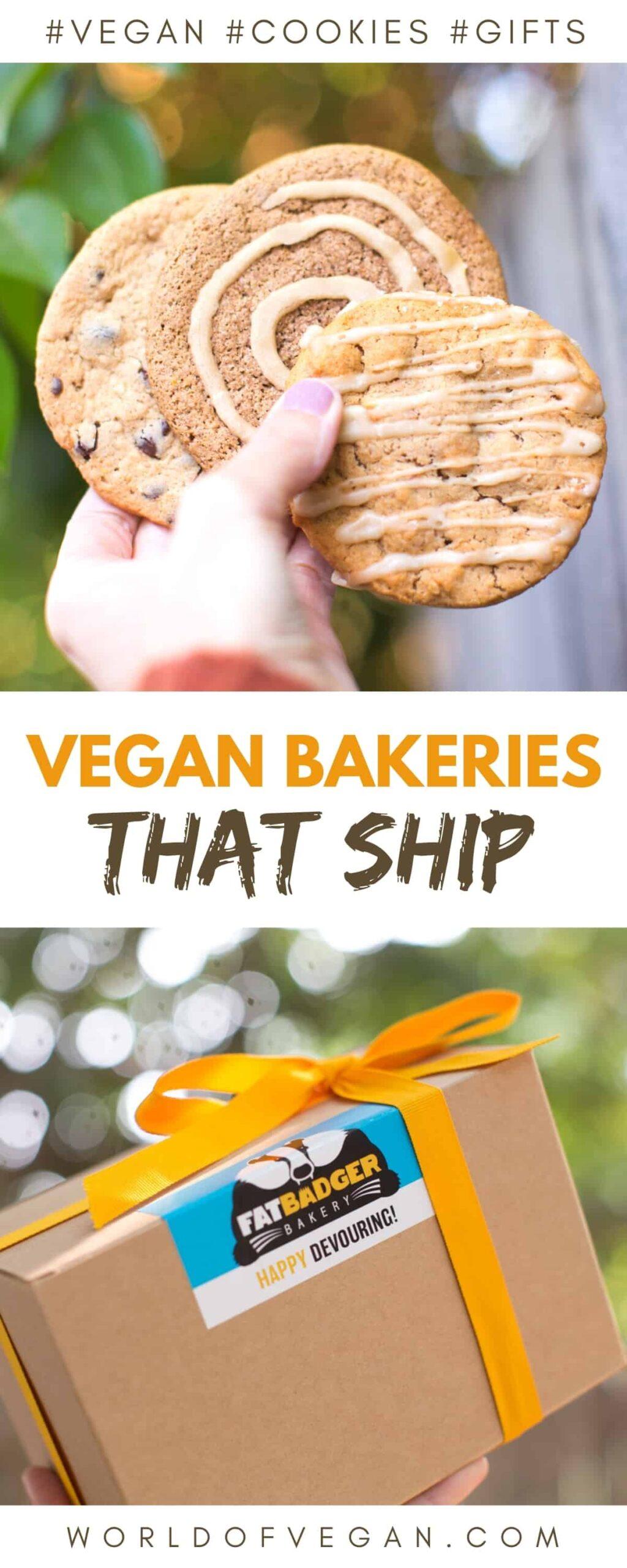Vegan Bakeries that Ship Cookies, Cakes, Brownies and Beyond