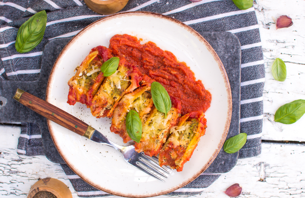 Vegan Stuffed Shells with Tofu Ricotta Cheese