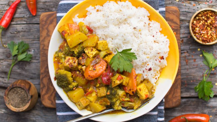 Yellow Curry With Tofu
