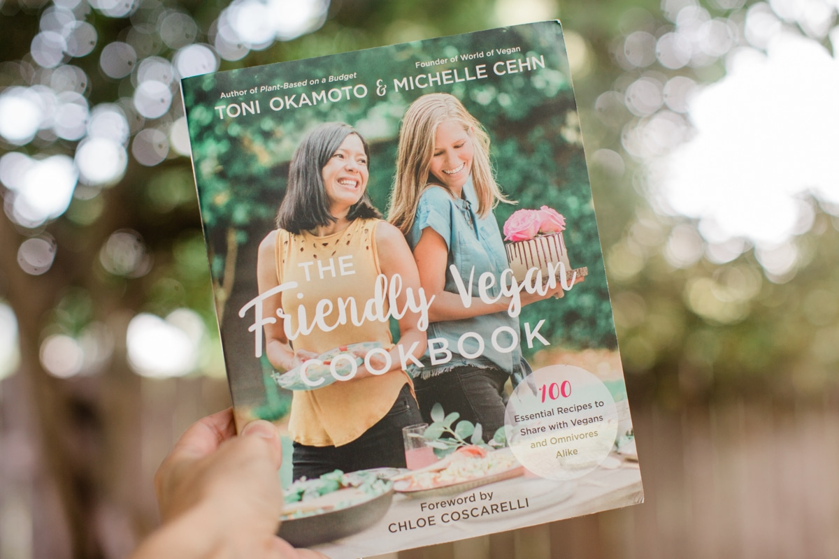 The Friendly Vegan Cookbook Cover Photo