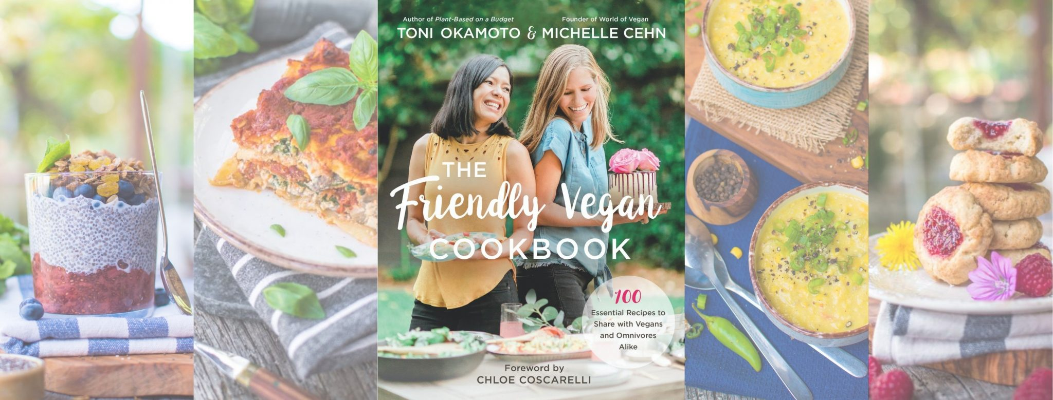 The Friendly Vegan Cookbook Cover