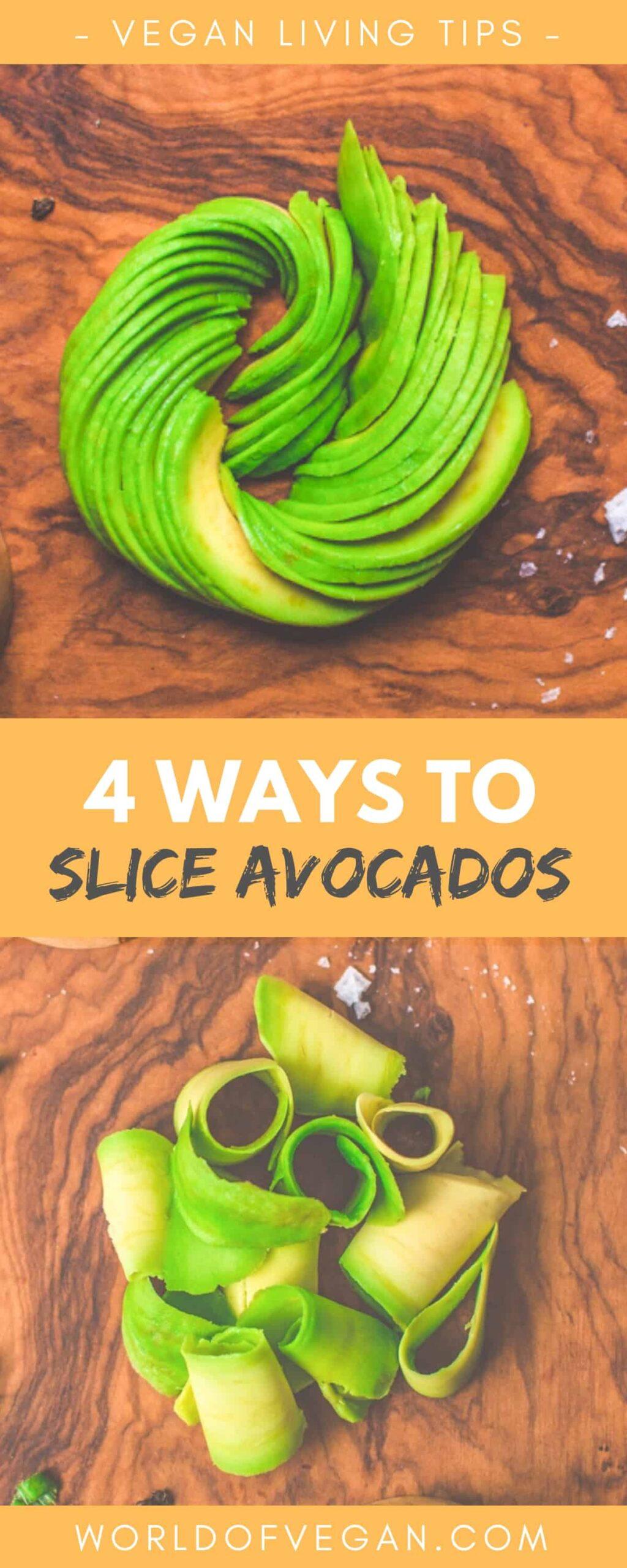 4 Ways to Slice an Avocado