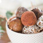 Raw Cookie Dough Date Balls