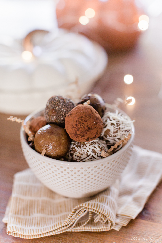 """Cookie Dough"" Nut Balls"