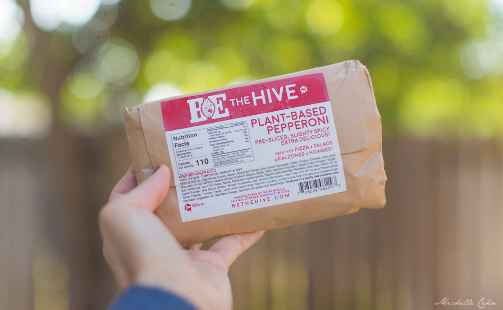 Vegan Pepperoni from Be The Hive