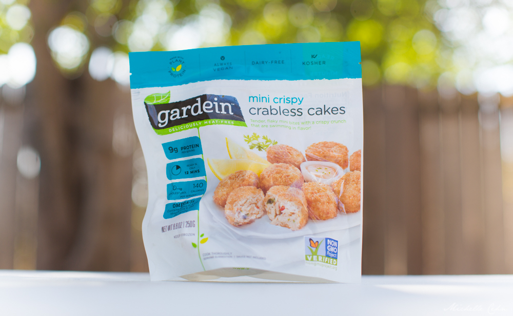 Vegan Crab Cakes — Gardein's Crabless Cakes from Vejii