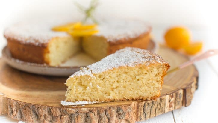 Vegan Lemon Olive Oil Cake