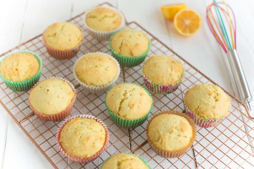 Lemon Vegan Cupcakes