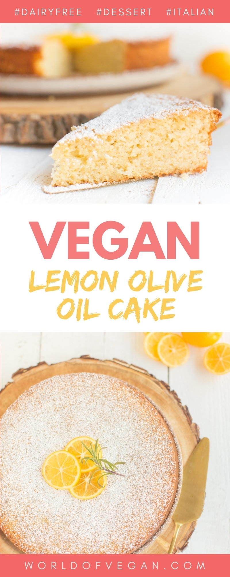 The Best Vegan Lemon Olive Oil Cake