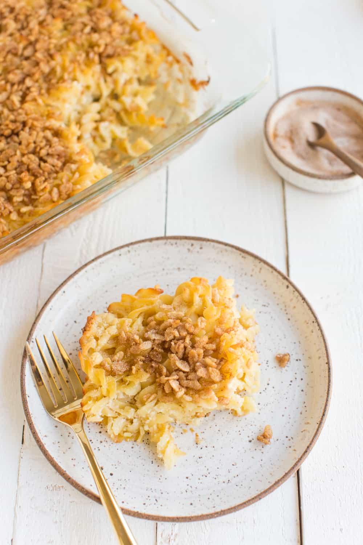 Best Vegan Noodle Kugel Recipe Ever
