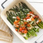 The Best Roasted Asparagus With Garlic and Tomatoes