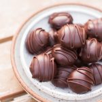 Chocolate Vegan Truffles with Liquor