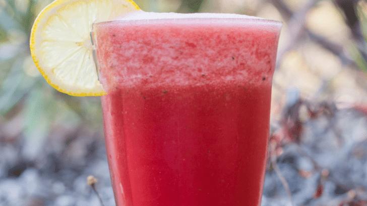 Cucumber Watermelon Cooler—The Perfect Summer Drink!